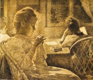 Theo-Van-Rysselberghe-Intimacy